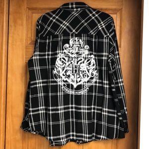 Harry Potter torrid flannel top